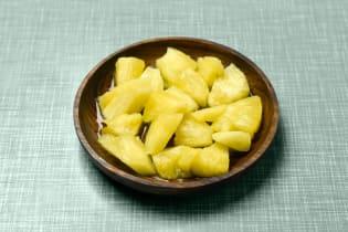 Salade d'ananas zestissime