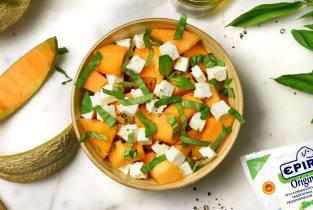Kit recette - Melon, féta & basilic pour 4