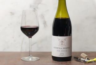 Vin rouge - Côtes du Rhône - Rive Droite - 2017