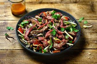 Salade de bœuf façon thaï