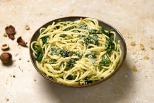 Spaghetti à la sauce gremolata