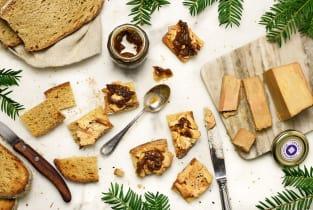 Kit recette - Les toasts au foie gras pour 4