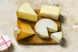 Petite planche de fromages de saison Beillevaire