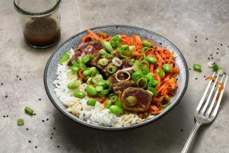 Salade de boeuf à l'asiatique