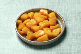 Salade de mangue & zestes de citron vert